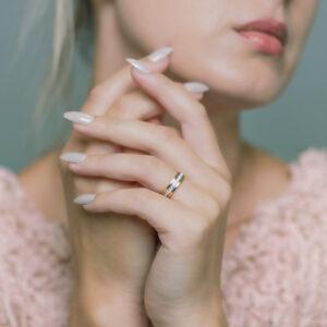2021 Alan Dalton goldsmith diamond eternity ring