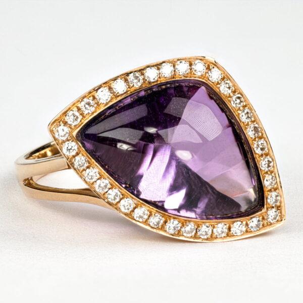 Alan Dalton goldsmith amethyst diamonds