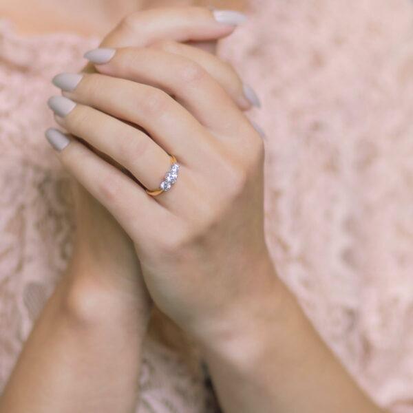 Alan Dalton goldsmith diamond engagement ring