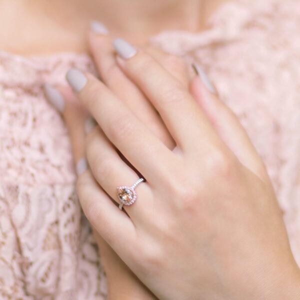 Alan Dalton goldsmith diamond ring