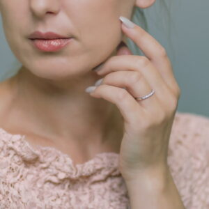 Alan Dalton goldsmith diamond wedding ring