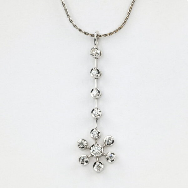 Alan Dalton goldsmith dimaond pendant