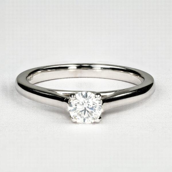 Alan Dalton goldsmith half carat diamond ring