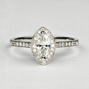 Alan Dalton goldsmith marquise diamond ireland