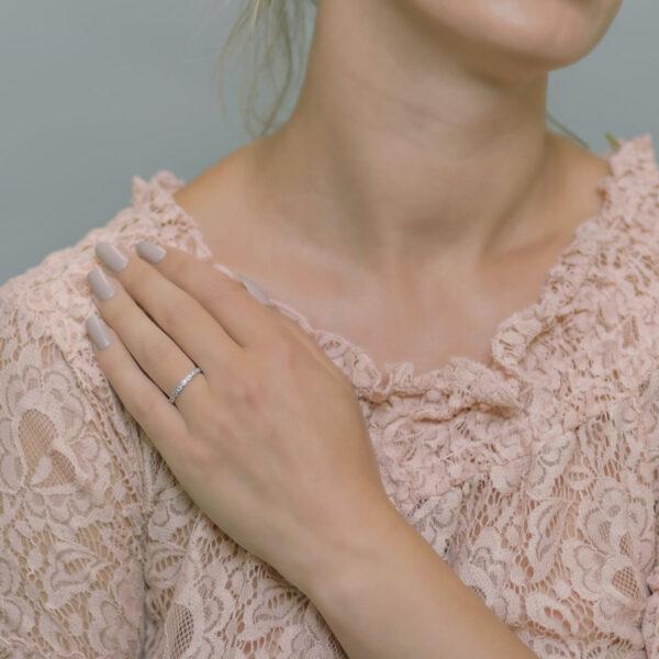 Alan Dalton goldsmith milgrain wedding ring
