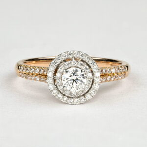 Alan Dalton goldsmith rose gold diamonds