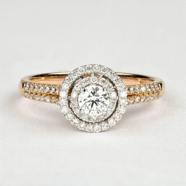 Alan Dalton goldsmith rose gold diamonds