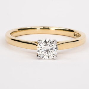 Alan Dalton goldsmith solitaire diamond