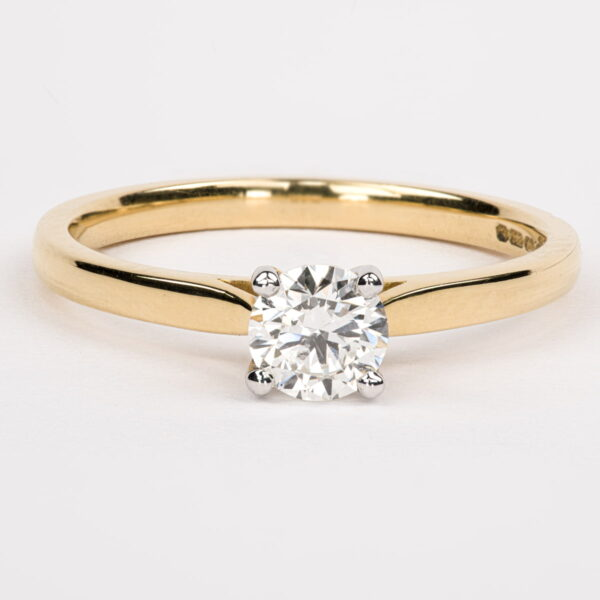 Alan Dalton goldsmith solitaire diamond
