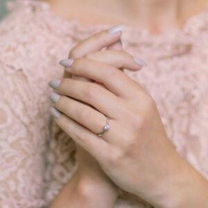 Alan Dalton goldsmith solitaire diamond ring