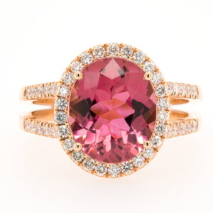 Alan Dalton goldsmith pink tourmaline